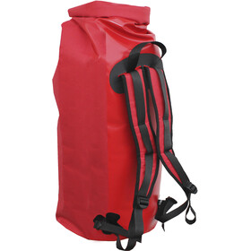Basic Nature Duffel 90L, red